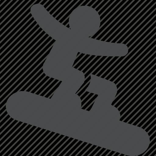 boardsports, extreme, mountain, snowboard, snowboarding, sport, winter icon