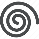 hurricane, spin, spiral, twist icon