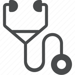 care, clinic, doctor, healthcare, nurse, stethoscope, treatment icon