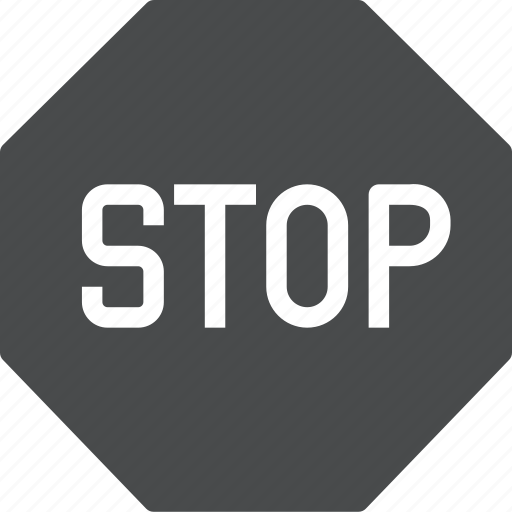 do not enter, sign, stop, warning icon