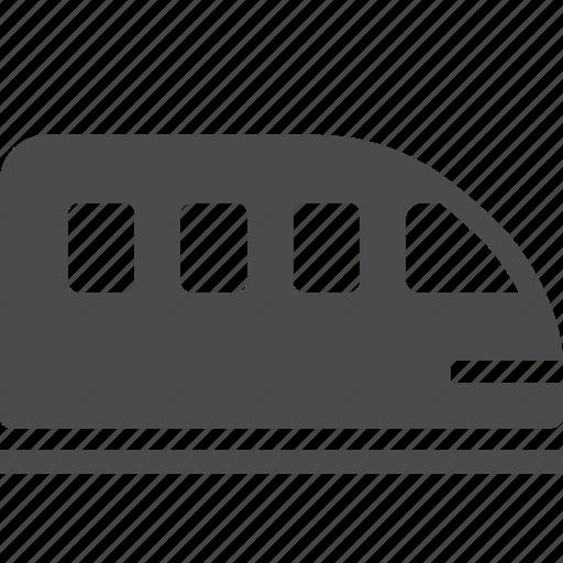 metro, monorail, railway, subway, train, tram, tramway icon