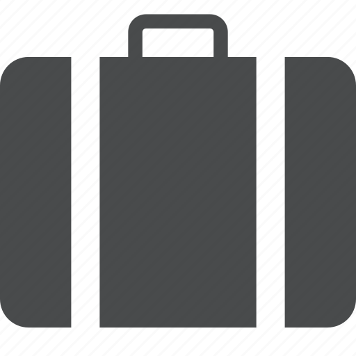baggage, briefcase, business, luggage, suitcase, travel icon