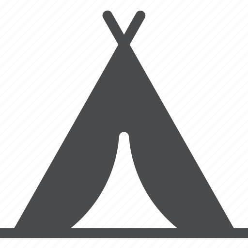 adventure, backpacking, camping, nature, outdoors, teepee, tent icon