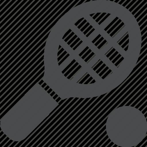activity, leisure, passtime, racket, racquet, sport, tennis icon