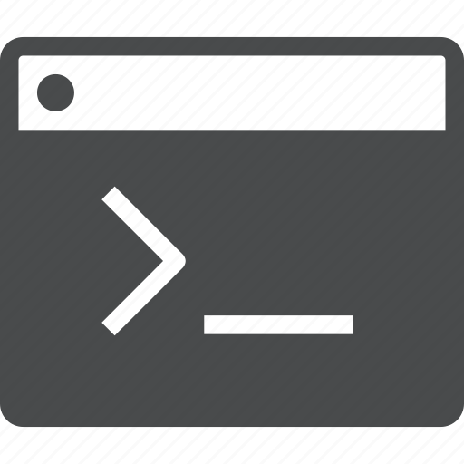 cmd, code, coding, terminal icon
