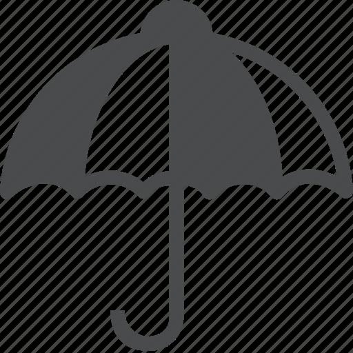 forecast, insance, policy, protect, rain, umbrella icon