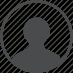 account, avatar, circle, profile, user icon