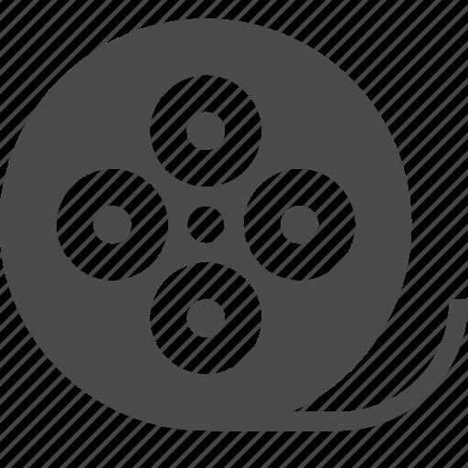 film, movie, reel, video icon