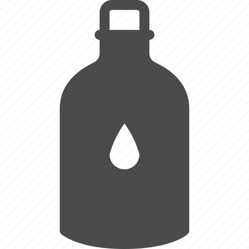 agua, aqua, bottle, fluid, hydrate, liquid, water icon