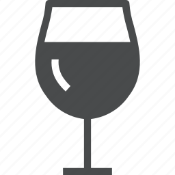 alcohol, beverage, glass, wine icon