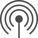 antenna, connection, network, radio, signal, wifi, wireless icon
