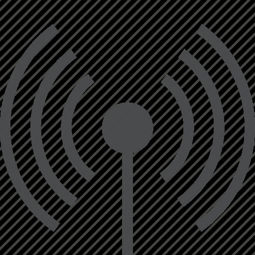antenna, connection, network, radio, satellite, signal, wireless icon
