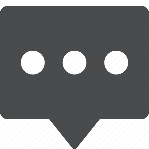 chat, comment, message, text, typing, writing icon