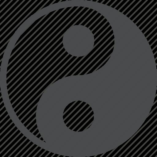 balance, feng shui, harmony, taoism, yang, yin, zen icon