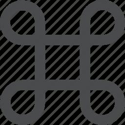 apple, cmd, command icon