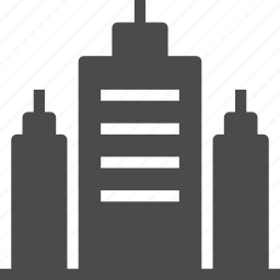 building, business, city, corporate, office, skyline, skyscrapper icon