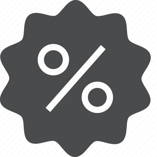 coupon, deal, discount, offer, percentage, sale icon