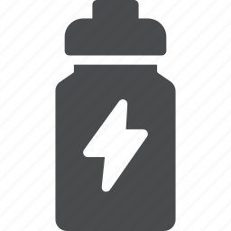 drink, energy, supplement, workout icon
