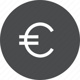 currency, euro, exchange, money icon