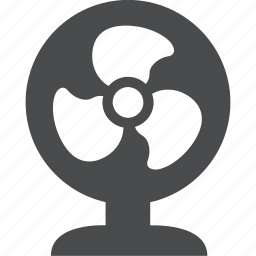 ac, air conditioning, cooling, fan icon