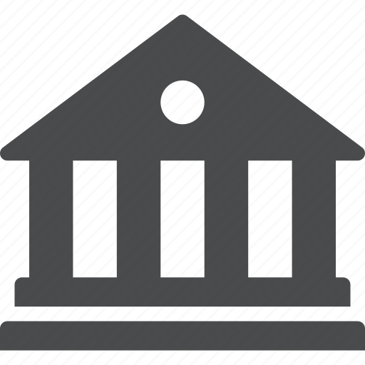 building, federal, government, library icon