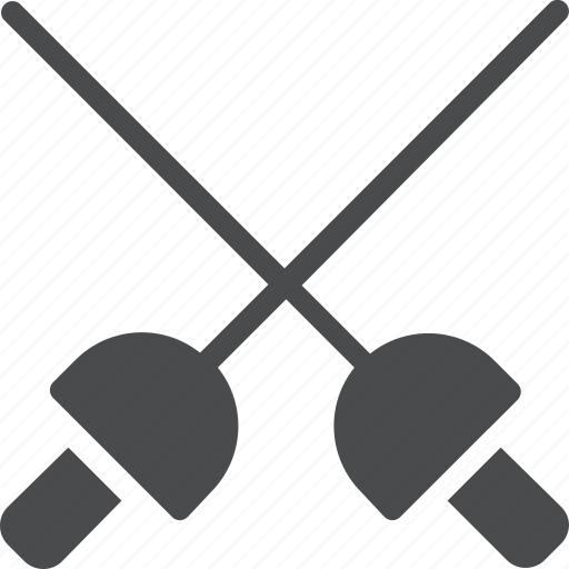 battle, combat, fencing, fight icon