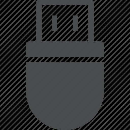 data, drive, flash, storage, thumb, usb icon