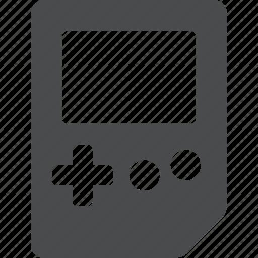 console, gameboy, gaming, nintendo, retro, video game icon