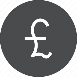 banking, coin, currency, finance, gbp icon