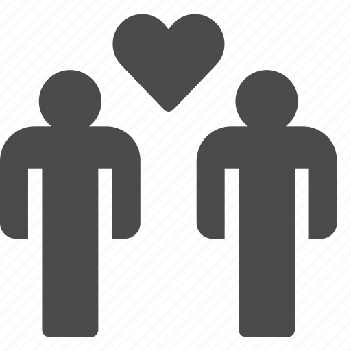 date, gay, love, marriage, romance, wedding icon