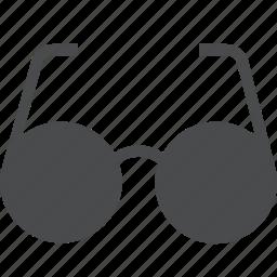 eyeglasses, eyewear, glasses, spectacles, sunglasses, view icon