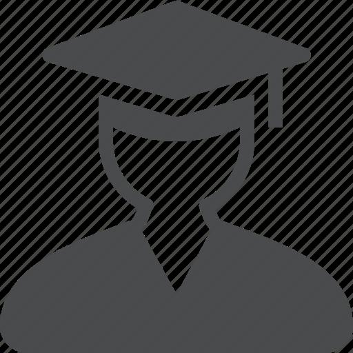 Graduate, student, college, graduation, knowledge, university icon - Download on Iconfinder