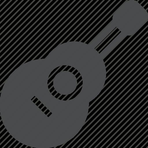 acoustic, guitar, instrument, jam, music, ukulele icon
