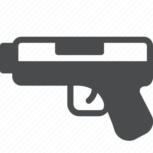 gun, pistol, shoot, weapon icon