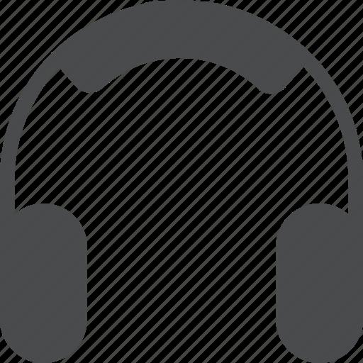 earphones, gadget, headphones, headset, listen, music icon
