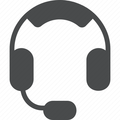 customer, gaming, headphones, headset, support icon