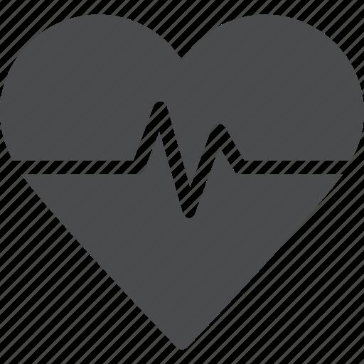 activity, health, heart, monitor icon