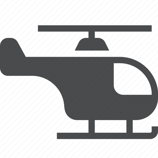 aeroplane, aircraft, chopper, flight, fly, helicopter icon