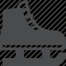 hockey, ice, iceskating, skate icon