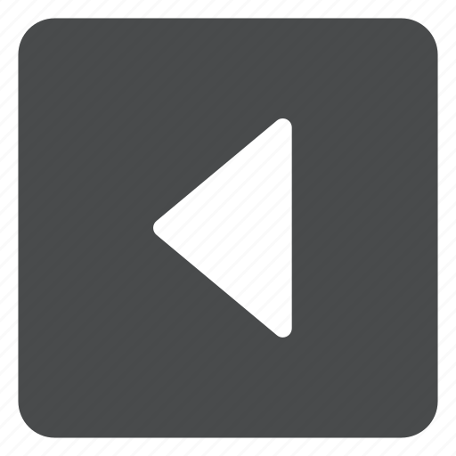 carrot, left, square icon