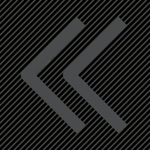 back, circle, left, previous icon