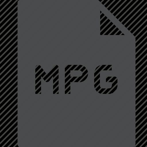 file, movie, mpg icon