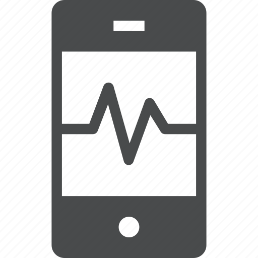 activity, mobile, monitor, phone, smart icon