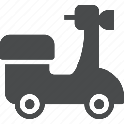 moped, scooter, transportation, travel, vespa icon