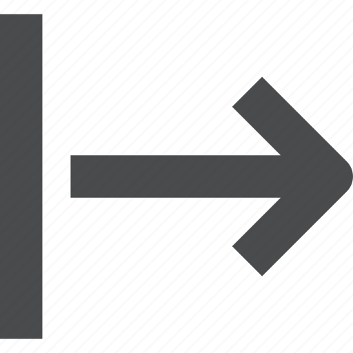 move, right, shift icon