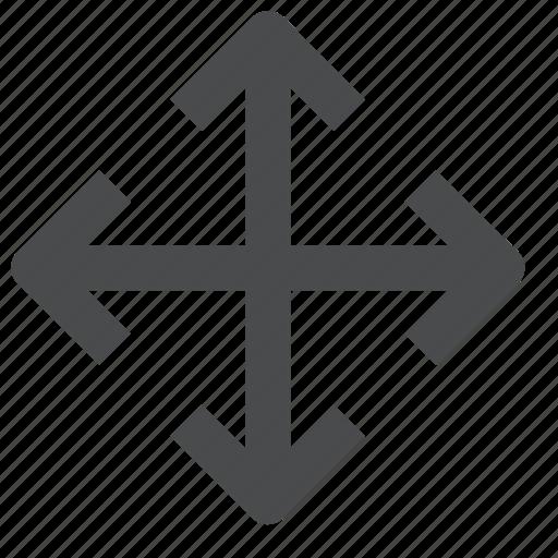 direction, location, multi, navigation, orientation icon
