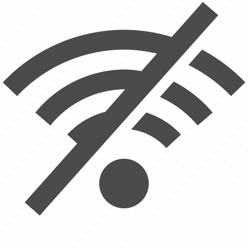 network, no, off, wifi, wireless icon