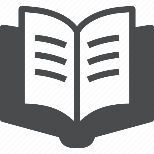 book, knowledge, learn, open, read, reading, study icon