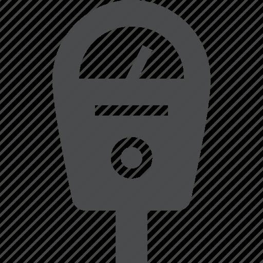 auto, garage, lot, meter, parking icon
