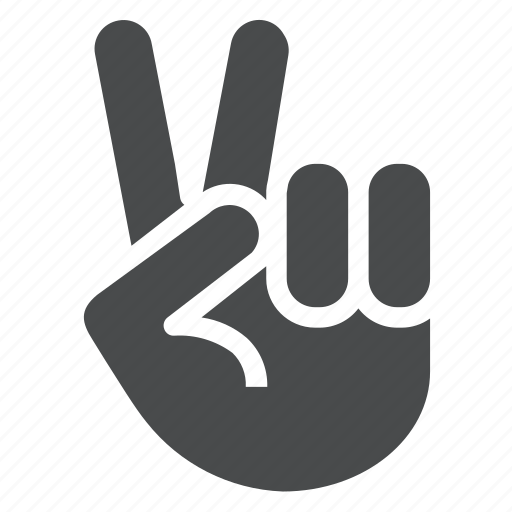 community, hand, hippy, love, peace, sign, team icon